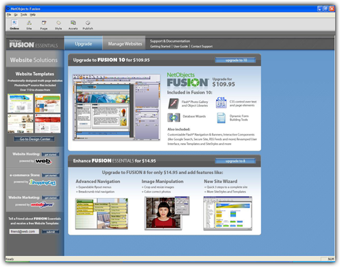 netobjects fusion essentials